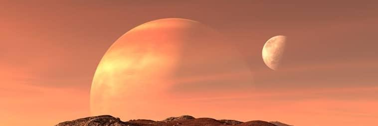 lua alienígena