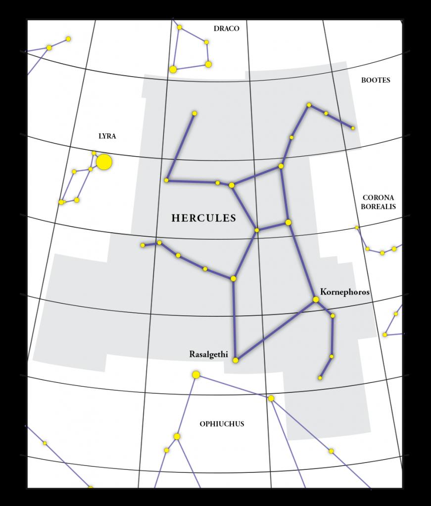 Hercules 星座图