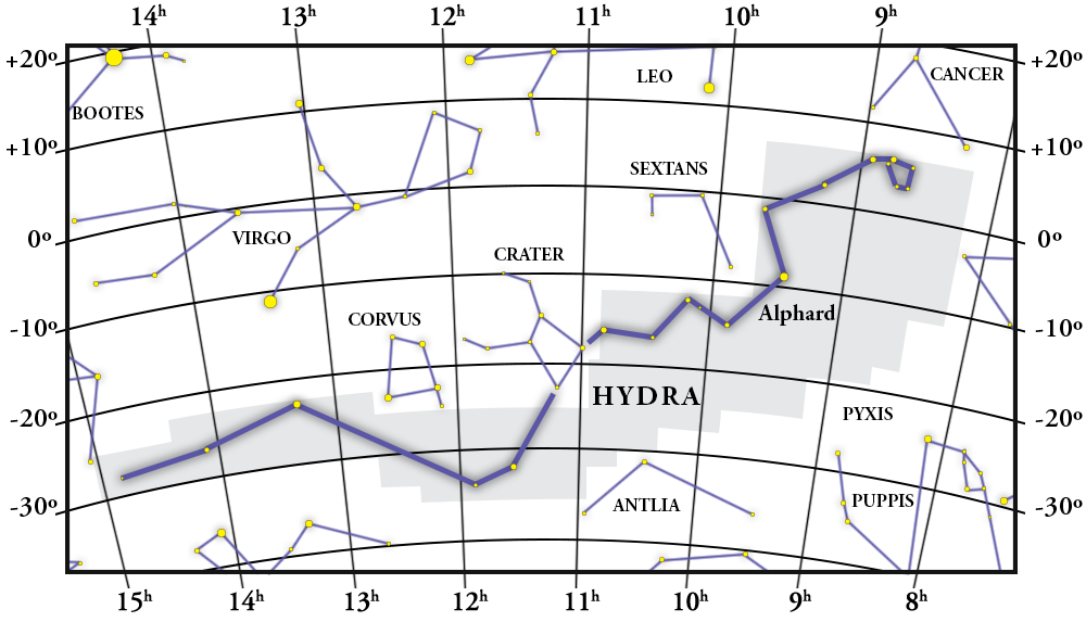 Hydra Constellation Map
