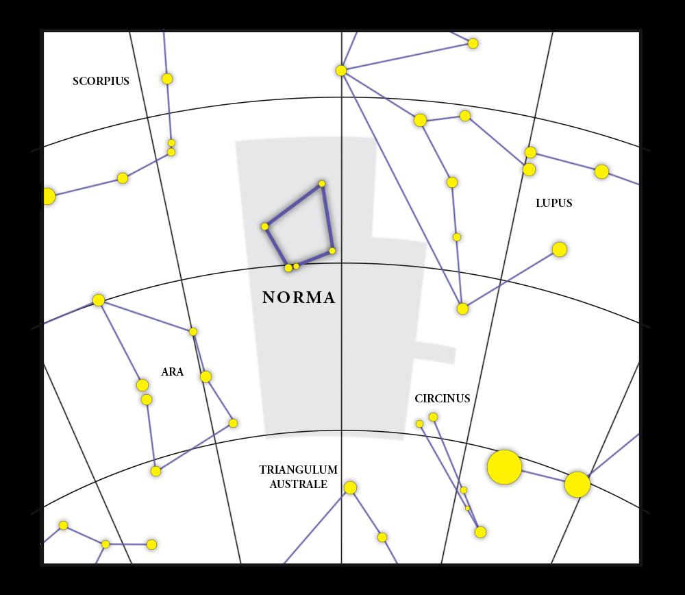 Norma Karta över konstellationerna
